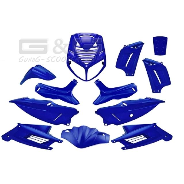 tnt verkleidung verkleidungsset 13 verkleidungsteile blau. Black Bedroom Furniture Sets. Home Design Ideas