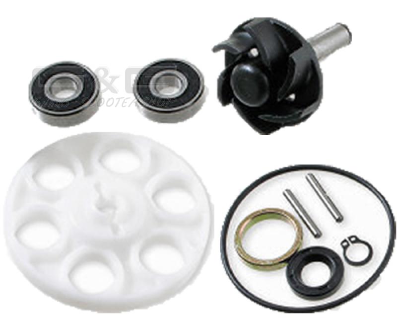 pompe l 39 eau kit de r paration pour minarelli 50 cc lc scooter aprilia ktm ark ebay. Black Bedroom Furniture Sets. Home Design Ideas