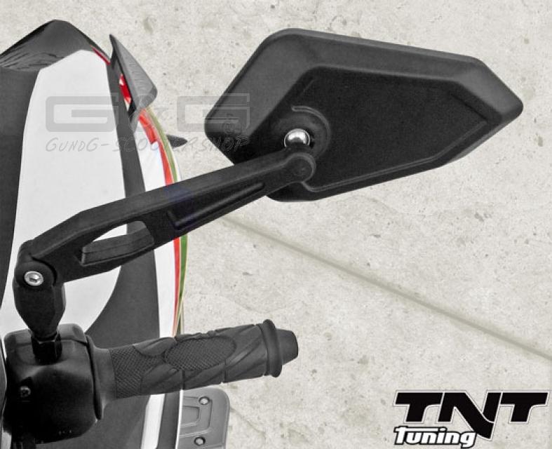 2 spiegel lenkerspiegel e pr fzeichen m8 m10 adapter for Spiegel quad