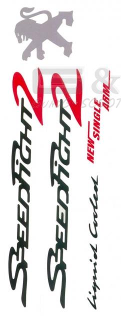 Details Zu Aufklebersatz Stickerkit Aufkleber Sticker Oem Für Peugeot Speedfight 2