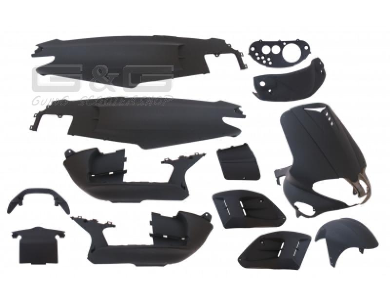 verkleidung verkleidungsset 15 verkleidungsteile schwarz. Black Bedroom Furniture Sets. Home Design Ideas