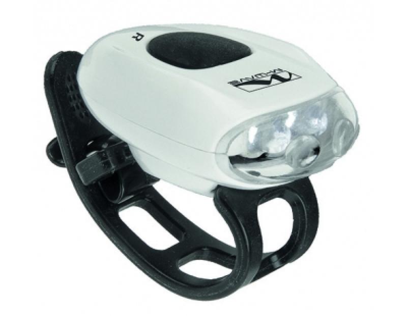 led fahrradlampe fahrrad licht scheinwerfer r cklicht vorderlicht m wave cobra ebay. Black Bedroom Furniture Sets. Home Design Ideas
