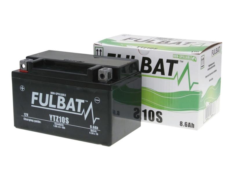 batterie fulbat gel ytz10s sla 12v 8 6ah f r kymco sym vs. Black Bedroom Furniture Sets. Home Design Ideas