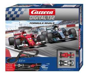 Carrera rennstrecken-Set Digital 132 Formel Rivals 690 cm