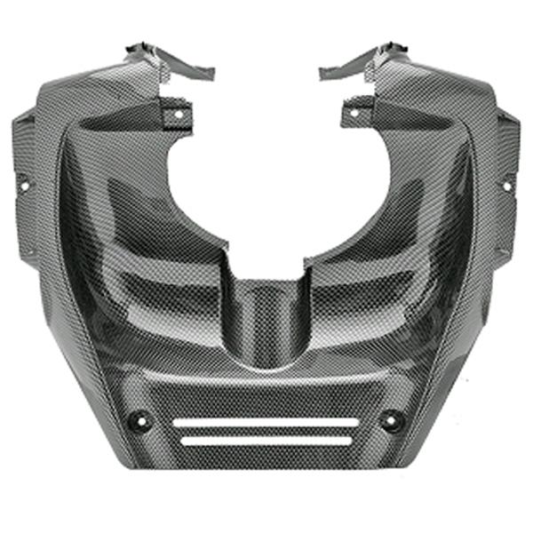 Beinschild Innenraum Verkleidung in Carbon-Look für MBK Nitro und Yamaha Aerox