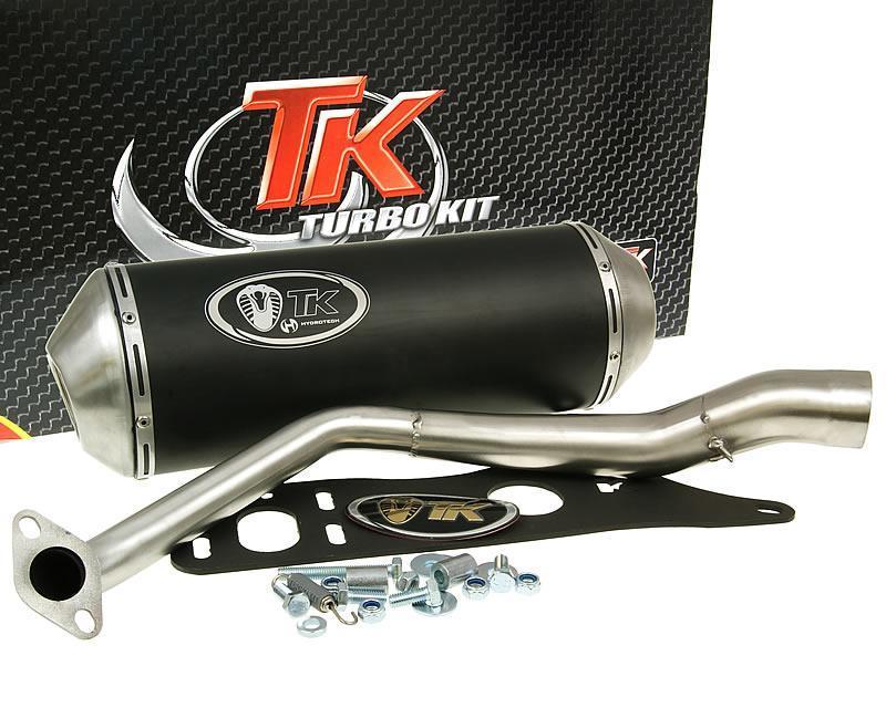 auspuff sport mit e zeichen turbo kit gmax 4t f r kymco