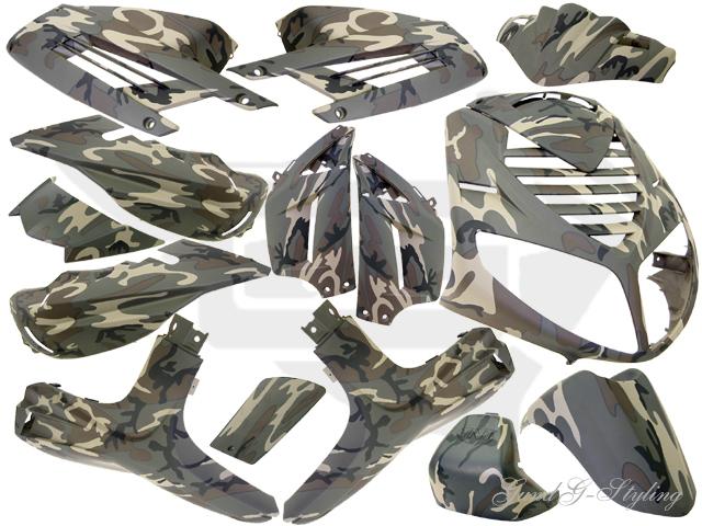 body kit verkleidungsset tnt speedfight 2 15 teilig camouflage. Black Bedroom Furniture Sets. Home Design Ideas