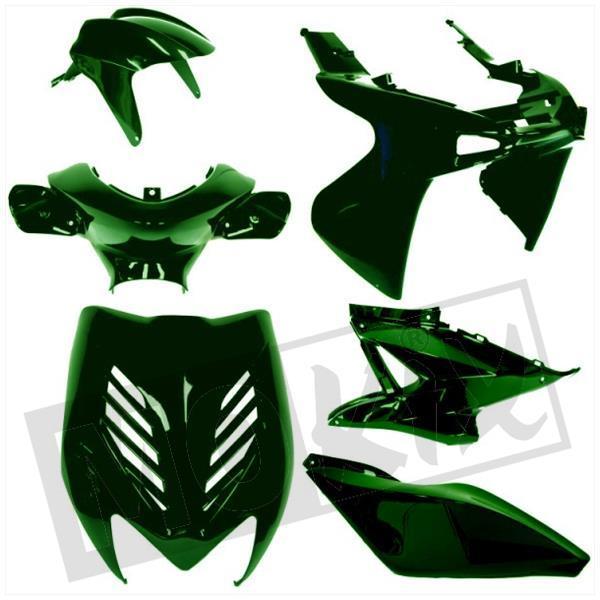 verkleidungsset 8 teilige verkleidung yamaha aerox und mbk nitro. Black Bedroom Furniture Sets. Home Design Ideas