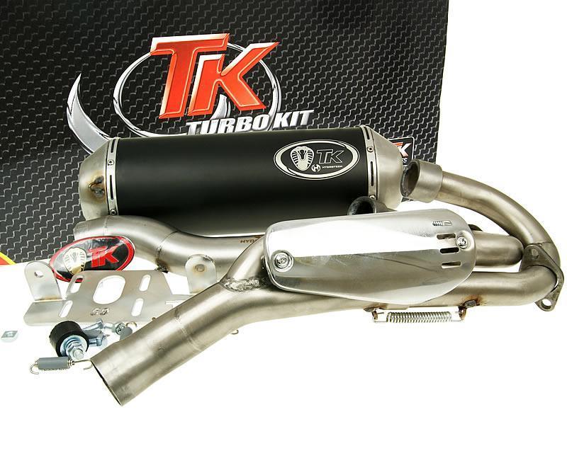 Atv Turbo Kit : Exhaust sport with e characters turbo kit quad atv for